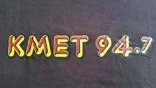 """Brand New"" KMET 94.7  SHIRT CHOCOLATE THAI BROWN Retired 2014 Edition  X LARGE"