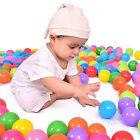 Baby Kid Colorful Fun Ball Soft Plastic Ocean Ball Toy Swim Pit Toy 5.5cm 50pcs