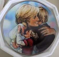 The Franklin Mint DIANA, Princess of Wales * MOTHER, ABOVE ALL * Collector Plate