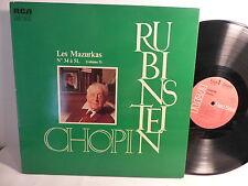 CHOPIN Les mazurkas n°34 à 51 Volume 3 RUBINSTEIN RCA 7031