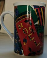 1995 Holiday Elegance Mug Limited edition by Fine Works Design