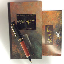 Montblanc Writers Edition Hemingway Limited Edition Ballpoint Pen - SEALED!!!