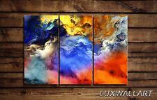 Print Decor Cloudy Metal Wall Art