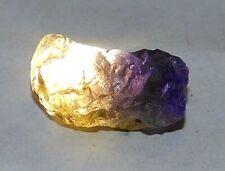 21.40 Ct Natural Tanzania Purple & Yellow Iolite Earth-Mined Specimen Facet Roug