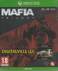 Mafia Trilogy Xbox One All Definitive EditionsBrand New factory Sealed