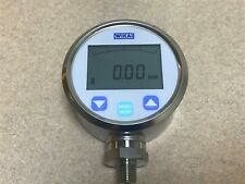 """Wika DG-10-S Stainless Steel Digital Gauge 0 to 300 psi 1/4"""" Male NPT Connection"""