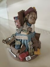 Lee Sievers Gnome (Tom Clark) Cairn Ed 34 Garage Sale hand signed