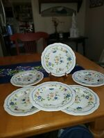 """Vintage Sear's Country French Ironstone 4453 Japan 7.5"""" Bread/Dessert Plate"""