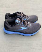 Brooks Glycerin 18 Running Shoe Size 9.5 Black/ebony/cornflower Women's