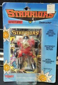 Vintage 1984 TOMY Starriors GOUGE Action Figure Wind-up  MOSC
