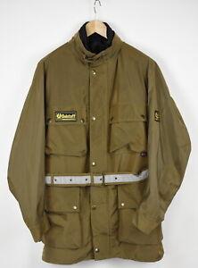 BELSTAFF VALTHERM Men X LARGE Shiny Belted Removable Lining Vest Jacket 33335-GS