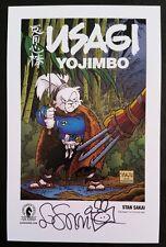 Comic Con 2016 Exclusive Dark Horse USAGI YOJIMBO signed print by STAN SAKAI
