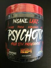 Psychotic Hellboy Pre Workout - 35 Servings By Insane Labz
