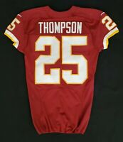 #25 Chris Thompson of Washington Redskins NFL Game Issued Player Worn Jersey