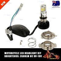 35W 12V Power H4 Car Motorcycle 6LED CREE Headlight Kit 3500lm Light Bulbs Globe