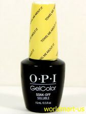 OPI GELCOLOR UV/LED RETRO SUMMER COLLECTION* Color GC R67- Towel Me About It