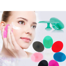DEEP PORE CLEANSING SILICONE Exfoliating Face Brush Facial Cleansing UK Stock**
