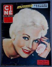 ►CINE REVUE 18/1959-KIM NOVAK-ROMY SCHNEIDER-DELON-PIER ANGELI-GERARD PHILIPE...