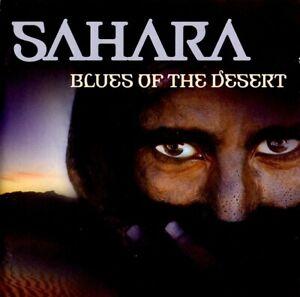 SAHARA BLUES OF THE DESERT - DOUBLE CD ALBUM - FREE UK POST - AFRICAN - WORLD