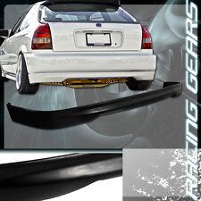 For 96-00 Honda Civic 3 Door Hatchback JDM Type R Polyurethane Rear Bumper Lip