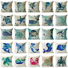 "18"" Nautical Animal Cotton Linen Throw Pillow Case Sofa Cushion Cover Home Decor"