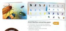 2016 Australia Jewel Beetles concertina pack Includes the only Imperf strips
