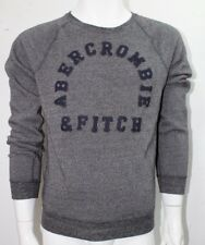 Abercrombie & Fitch Men's Sweatshirt  Muscle Graphic Logo Gray   NWT