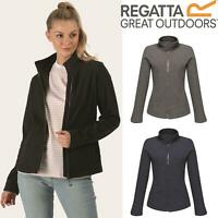 Regatta Womens Parkline Full Zip Fleece Jacket Quick Drying Workwear Golf