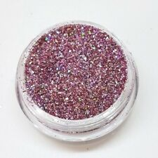 CA Glitter LASER SILVER ROSE hologramm Glitter Rosa Multi Regenbogenschimmer