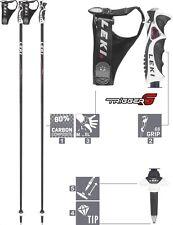 LEKI Skistöcke Carbon Ski-Stock Alpin »Pure S« Trigger S Herren Damen Schwarz