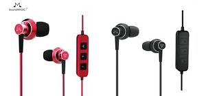 SoundMAGIC ES20BT Bluetooth Stereo Earphones with Mic -   IN BLACK COLOR ONLY