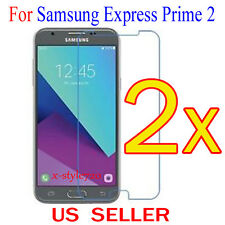 2x Clear Screen Protector Guard Cover Film For Samsung Galaxy Express Prime 2