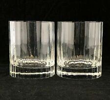 2 LUIGI BORMIOLI Bach Double Old Fashioned Glasses 11 0z
