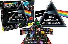 PINK FLOYD - Dark Side Of The Moon 600 Piece Double Sided Die-Cut Jigsaw Puzzle
