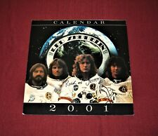 """JIMMY PAGE (Signed) """"LED ZEPPELIN"""" 2001 Calendar - Donated to Charity"""