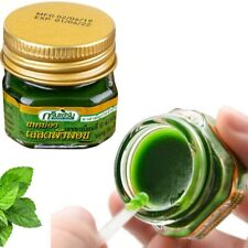 100% Original thailand herbal green ointment painkiller pain relief new 10g jar
