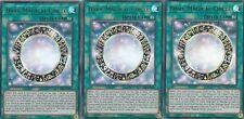 YUGIOH CARD 3 X  DARK MAGICAL CIRCLE  LEDD-ENA15 LEGENDARY DRAGON DECK
