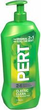 Pert Classic Clean 2 in 1 Shampoo & Conditioner 33.8 fl oz (2 Bottles)