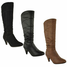Zip High Heel (3-4.5 in.) Synthetic Casual Shoes for Women
