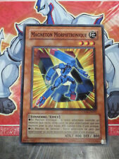 Carte YU GI OH MAGNETON MORPHTRONIQUE CSOC-FR007 x 3