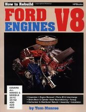 How to Rebuild Ford V-8 Engines by Tom Monroe, (Paperback), HP Books , New, Free