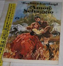 CARTLAND Barbara - AMORE SELVAGGIO - Oscar Mondadori - libri usati