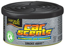 California Scents Car Home Organic Air Freshener Freshner Tin Can - SMOKE AWAY