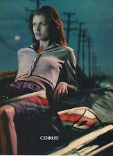 PUBLICITE ADVERTISING 2000    CERRUTI   haute couture