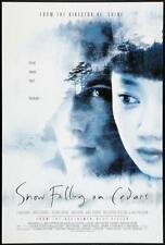 SNOW FALLING ON CEDARS - D/S 27x40  Original Movie Poster One Sheet Ethan Hawke