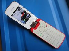 Alcatel Onetouch 2010G Flip Phone Red and White Big Button VGC Vodafone Free P&P