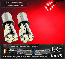 LED SMD BAY15D 1157 380 P21/5W Red Car Rear Tail Brake Light Lamps Bulbs 12v