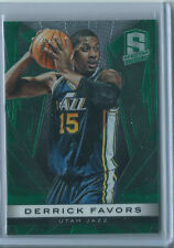 Derrick Favors 2013-14 Spectra *Green Base Card* NBA #61/199