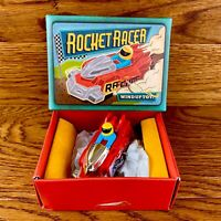 Rocket Racer Wind Up Toy In Box Retro Vintage Car Design Classic Gift Boxed