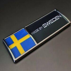 Volvo / Saab / Scania - Made By Sweden Sticker Emblem | Limited